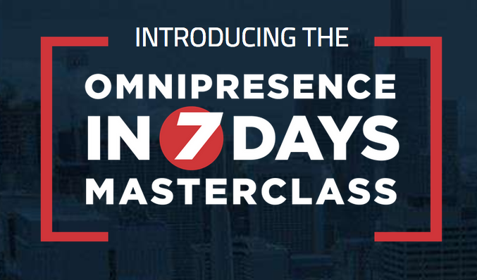 Scott Oldford - Omnipresence In 7 Days Masterclass