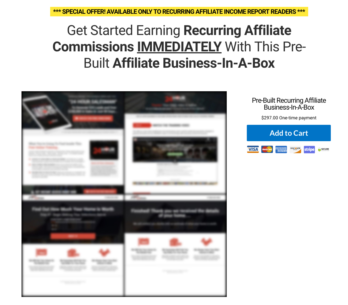 Duston McGroarty - Affiliate Business in a Box