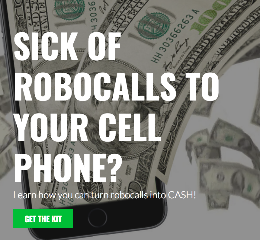 Turning Robocalls Into Cash