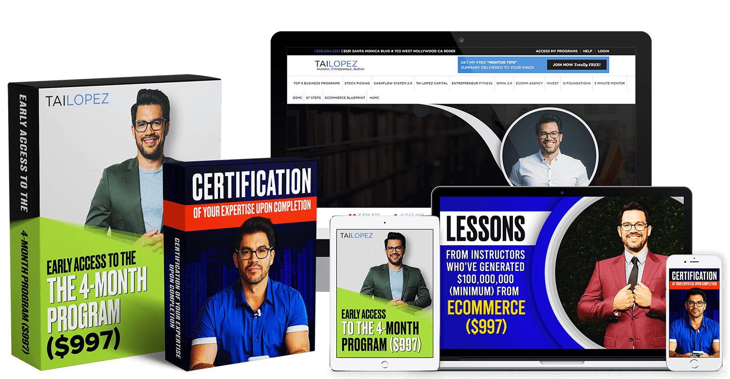 Tai Lopez – Ecommerce Specialist Certification