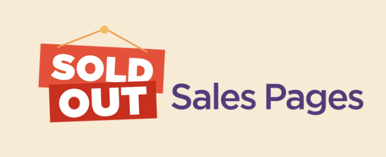 Luisa Zhou – Sold Out Sales Page