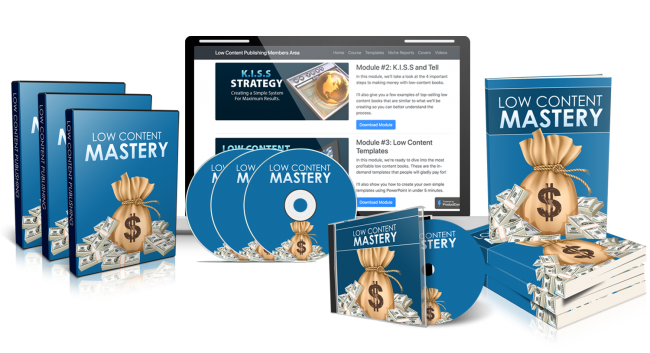 Kate Riley – Low Content Mastery